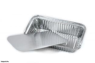 Контейнеры для еды одноразовые фольгированные, 1000 грамм