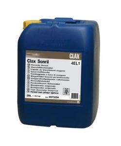 Diversey CLAX SONRIL 4EL1 22.2 kg жидкий кислородный отбеливатель