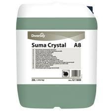 Diversey SUMA CRYSTAL A8 20.8 kg - ополаскивающее средство для посудомоечных машин