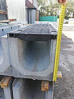 Лоток водоотводный бетонный SteePro DN 200 кл. Е600 ( в сборе ) 3 варианта, фото 1