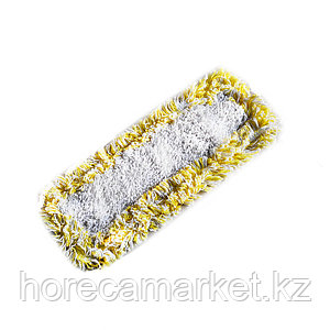 Тряпка-Моп для влажной уборки 40 см желтая