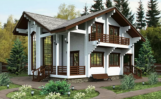 Проект дома №233