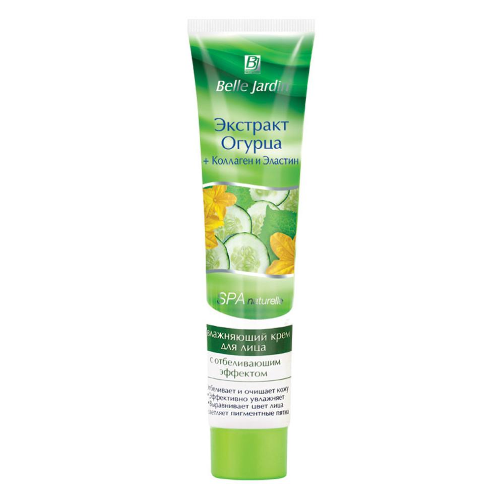 "Крем для лица увлажняющий ""Экстракт огурца+коллаген и эластин"" Belle Jardin Spa Naturelle Face Cream"