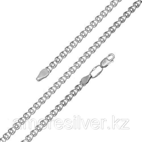 Серебряная цепь  Бронницкий ювелир 81040480140  81040480140