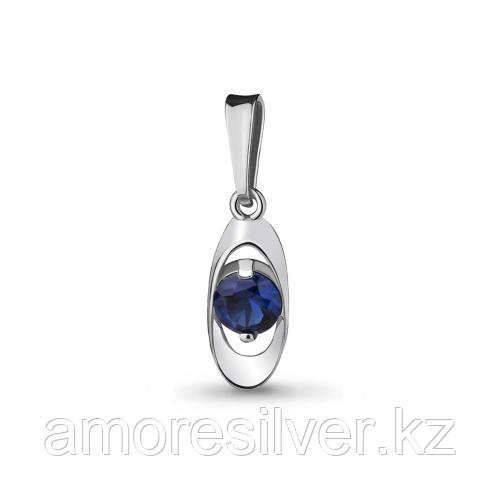 Серебряная подвеска с нано сапфиром   Aquamarine 22905Н