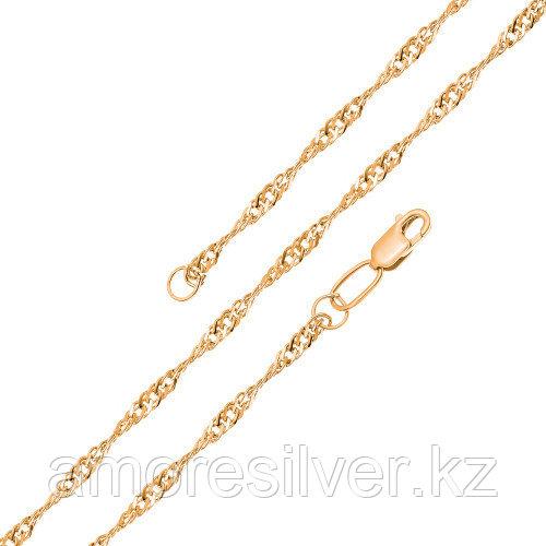 Цепь из серебра   Бронницкий ювелир V1035022750 размеры - 50  V1035022750