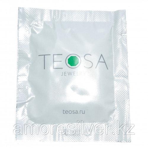 211199/1088 Салфетка влажная для чистки ювелирных изделий TEOSA  ЮВЕЛИРНАЯ КОСМЕТИКА 14 x13,5 см  14 x13,5 см