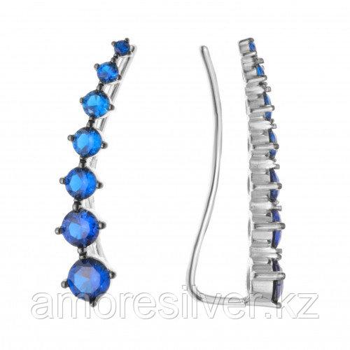 Серебряные серьги с фианитом  Pokrovsky 0201213-00275  0201213-00275