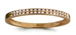 Серебряное кольцо с фианитом   Aquamarine 63585А#