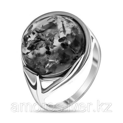 Кольцо из серебра с янтарем и     ЯНТАРНАЯ ЛАГУНА 4LP262