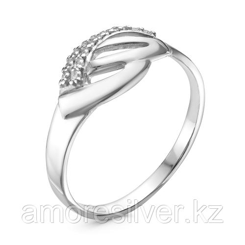 Кольцо из серебра с фианитом  Красная Пресня 23810128Д