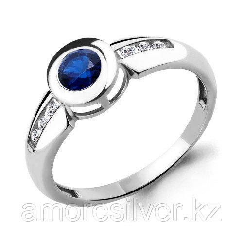 Кольцо из серебра с фианитом   Aquamarine 68013Н