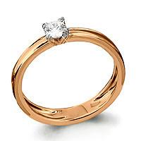 Серебряное кольцо с фианитом сваровски   Aquamarine 63210#