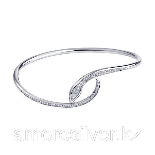Браслет SOKOLOV серебро с родием, фианит  94054684 размеры - 20