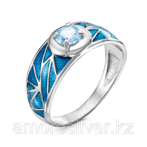 Серебряное кольцо с фианитом    Красная Пресня 23810934Д размеры - 18