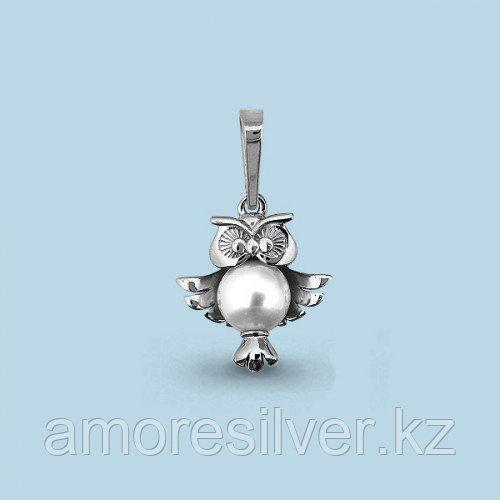 Подвеска из серебра с жемчугом культ.   Aquamarine 22884