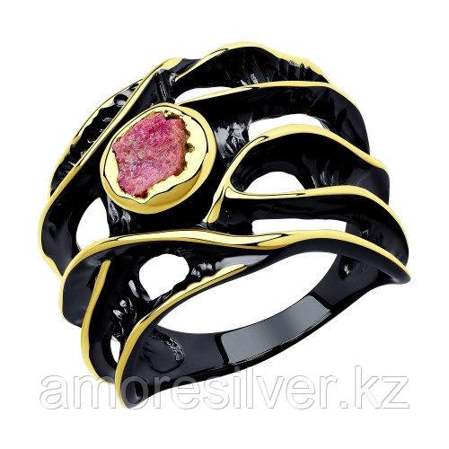 Кольцо из серебра с ситаллом   SOKOLOV 94-310-00511-1