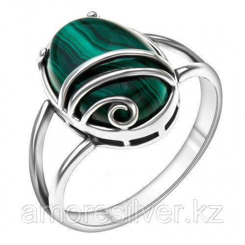 Кольцо Приволжский Ювелир , малахит, овал 243933-ML