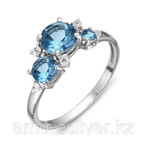 Кольцо из серебра с топазом   Teosa К620-1373Т размеры - 16,5 17,5