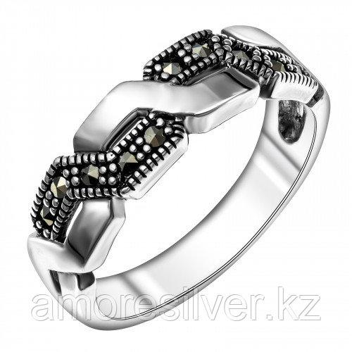 Кольцо из серебра с марказитом   Teosa HR-1579-MAC