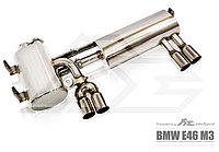 Выхлопная система Fi Exhaust на BMW E46 M3