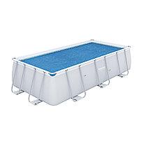 Тент для бассейна солнечный Flowclear 380 х 180 см BESTWAY 58240 Винил Для бассейнов размером 404-412 х 201 см