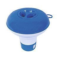 Дозатор плавающий для химикатов Flowclear 12.5 см BESTWAY 58210 Пластик Для таблеток 2.5 см (в комплект не