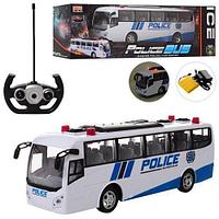 Детская игрушка полицейский автобус на радиоуправлении модель NO. 666-690A