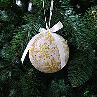 Новогоднее украшение для оформления ёлки или интерьера - 6 см
