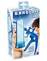 Помпа для пениса Bang Bang синяя, фото 1