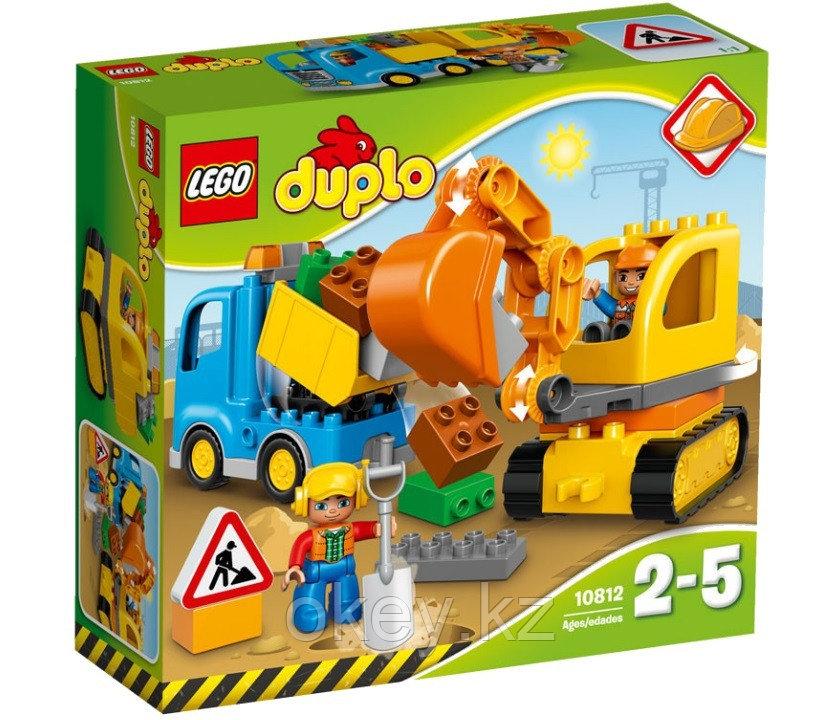 LEGO Duplo: Грузовик и гусеничный экскаватор 10812