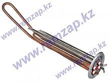 Нагревательный элемент ТЭН RF 2000W/220V (1000W+1000W), гор., с местом под анод М6 артикул 182515 / 66200