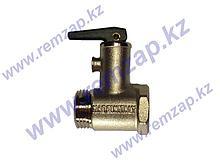 Клапан предохранительный 8,5 Бар, с рычажком для водонагревателей 180404