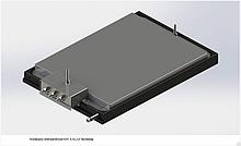Конфорка для промышленных  электроплит КЭ-0,12/3,0 кВт сбоку код:Z1460