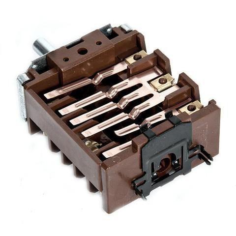 Переключатель духовки электроплиты с регулировкой температуры (3+0) EGO 46.23866.650, Kaiser, Hansa, Beko,