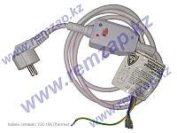 Шнур (кабель) электрический с УЗО 10А/230V для для водонагревателя Термекс 66598