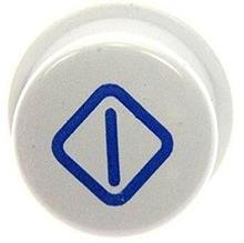 Насадка, толкатель на кнопку включения стиральной машины Indesit, Ariston C00097417