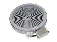 Конфорка EIKA (стеклокерамика), D=165mm, спираль D=145mm,1200W, простая, плавная 481231018887