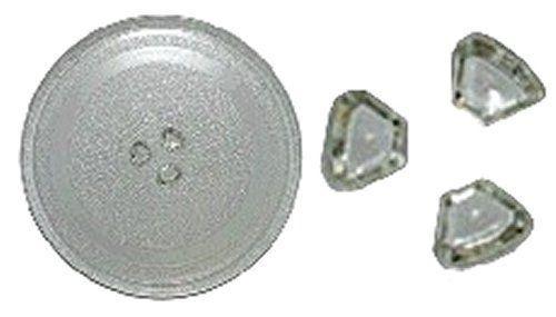 Тарелка СВЧ D=288 mm, c креплениями под коплер, Samsung DE74-20102B, 95PM00