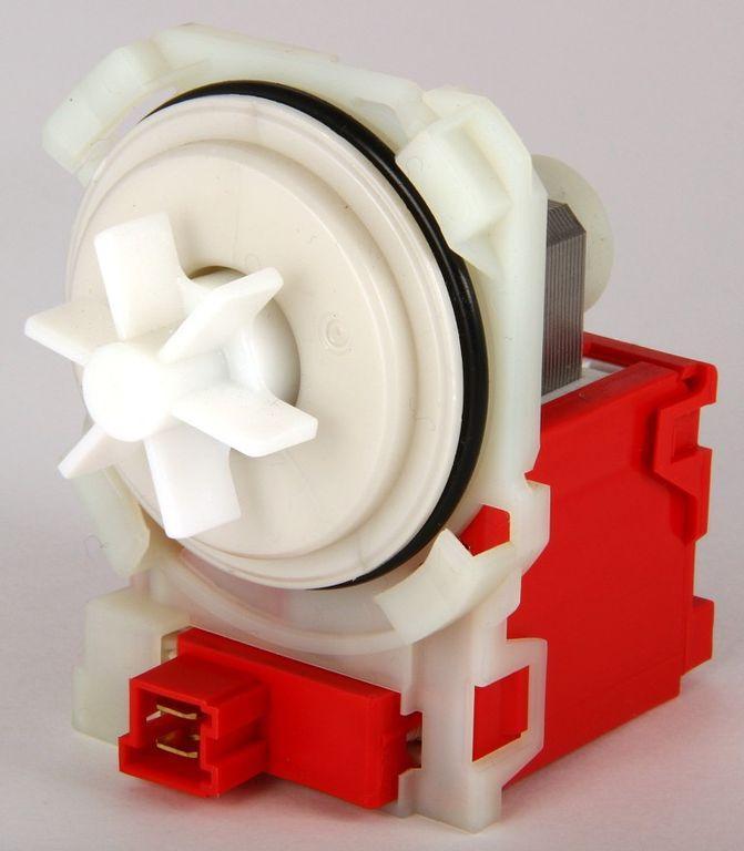 Насос сливной для стиральной машины COPRECI EBS007/0090 4 защелки, прямоугольный, фишка вперед BO5431 225140