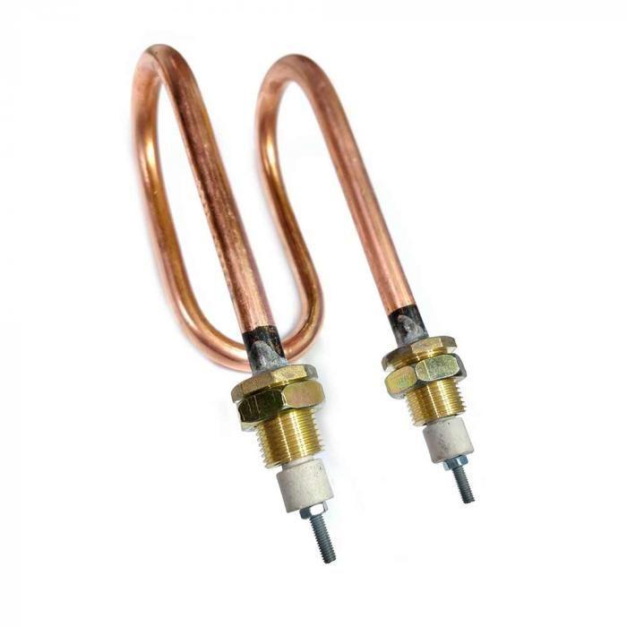 ТЭН медный для дистиллятора 2,0 кВт 160 мм 10.220