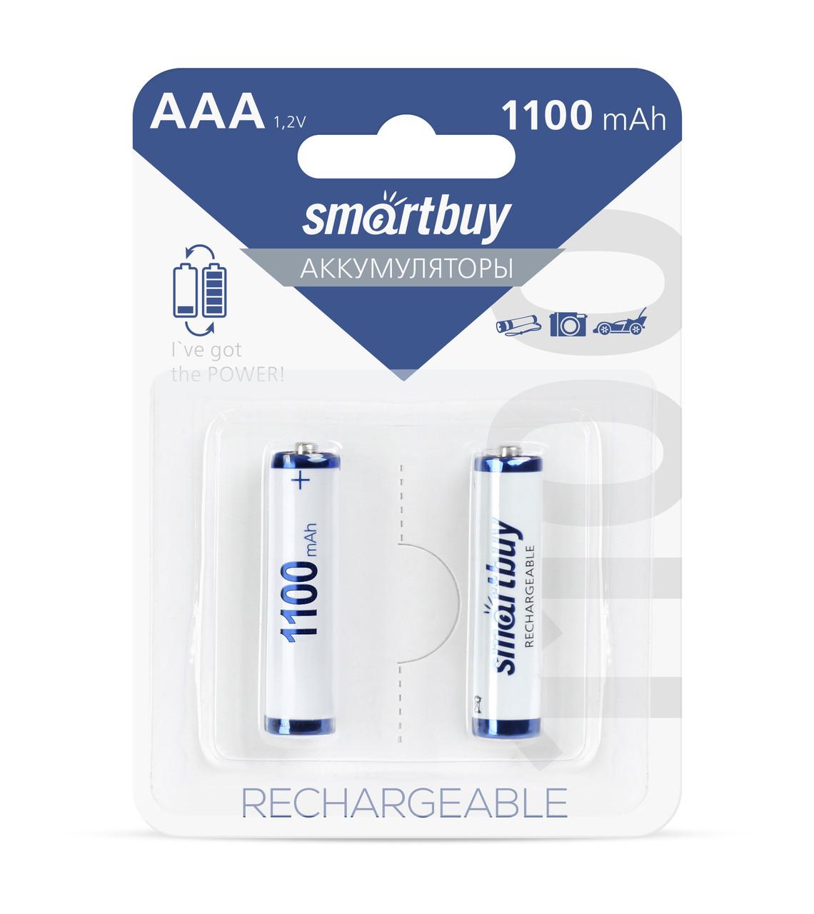 Аккумулятор Smartbuy AAA 1100mAh