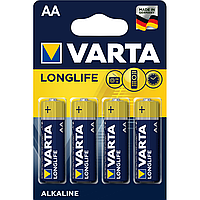 Батарейка VARTA AA LONGLIFE  LR6 Alkaline