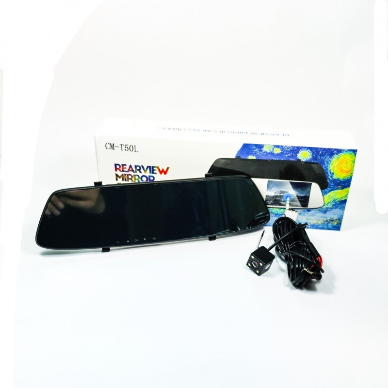 Зеркало-видеорегистратор с камерой заднего вида
