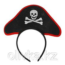 Карнавальный ободок «Пиратка»