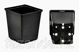 Горшок для рассады квадратный 90х90х95 мм (10 шт)