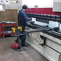 Гибка металла листогибом до 6 мм