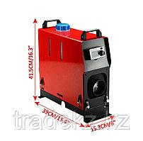 Автономный отопитель, дизельная печка, 12В, мощность 5 кВт, дизельное топливо, с пультом ДУ