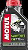 Синтетическое моторное масло Motul SNOWPOWER 2T  1литр