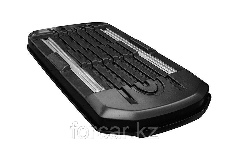 Бокс LUX IRBIS 206 черный глянцевый 470 л (206х75х36 см.) с двусторонним открыванием - фото 6